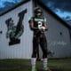 Cedrick Phillips Sr. football star for the Vicksburg Gators.