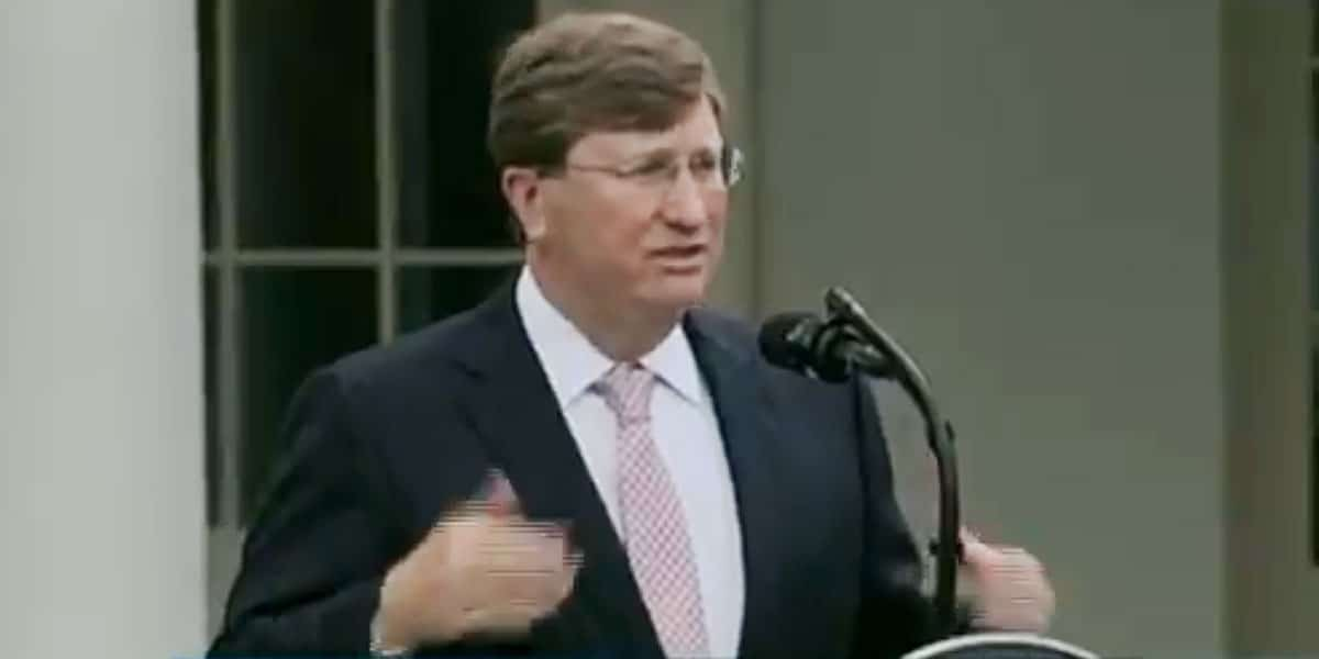 governor tate reeves income tax