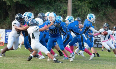 PCA junior high football