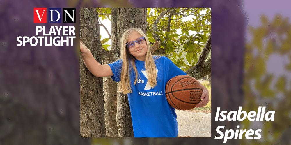 Vicksburg YMCA basketball player Isabella Spires