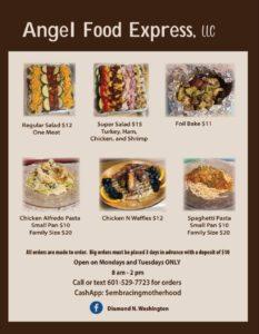 Angel Food Express menu