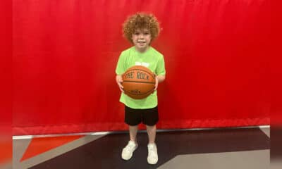 YMCA basketball player Brooks Caruthers led the Sonics in points on Monday in a 32-10 win over the Rockets. Caruthers scored 24 points in the big win, which dominated on the court all night. He also played