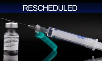 Vaccines rescheduled