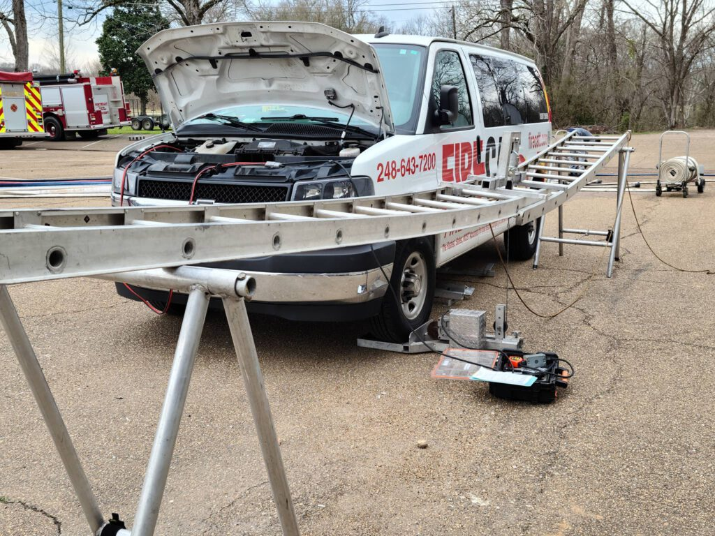 ladder test 500 lb