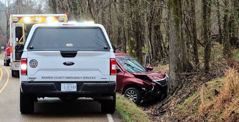 Just before 1 p.m. Monday, a single vehicle accident took place in the 1700 block of Dana Road, resulting in a minor traffic issue until approximately 1:40 p.m.