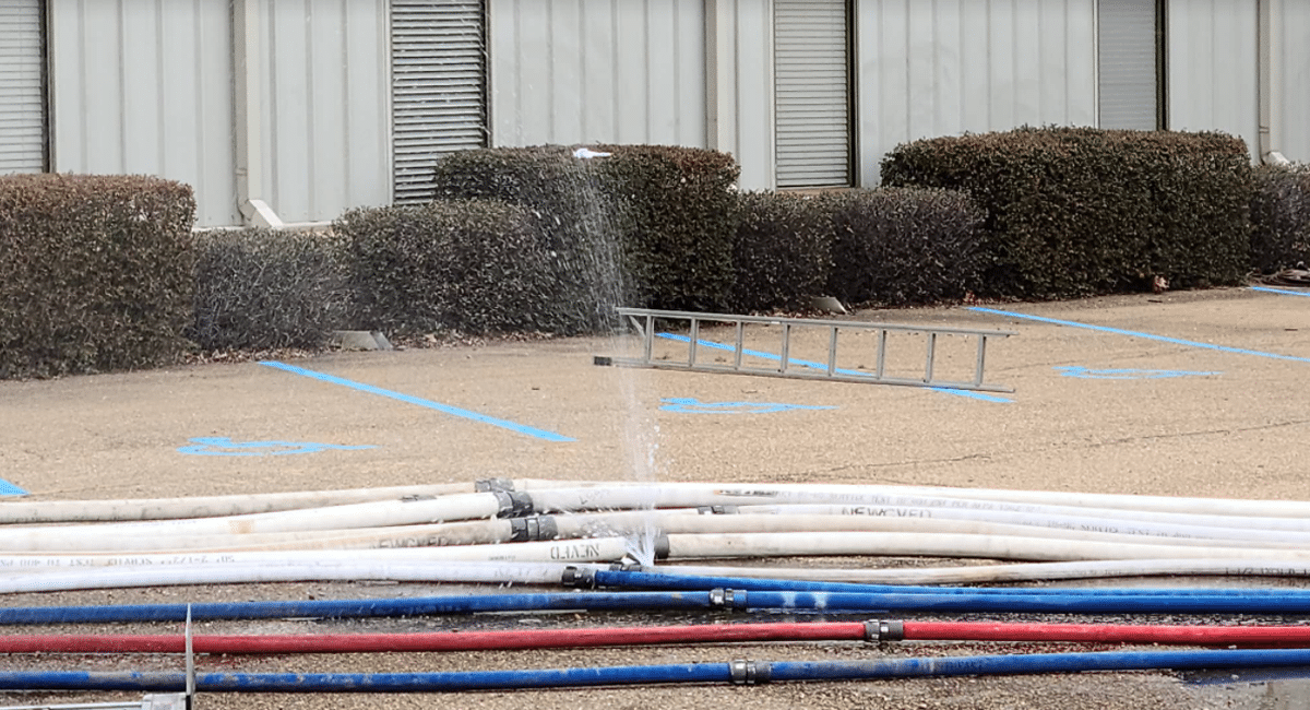leaky hoses