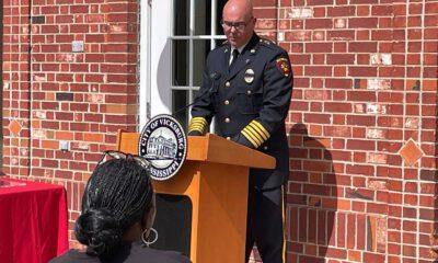 firefighter honor ceremony